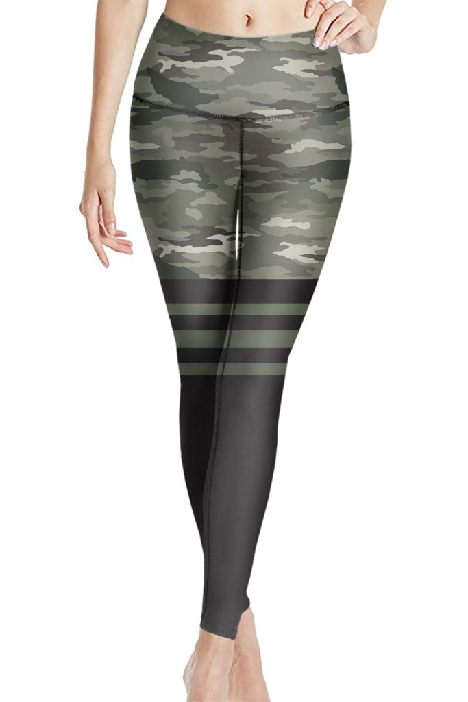 THIGH HIGH CAMO ACTIVEWEAR LEGGINGS - YOGA - EXCLUSIVE!