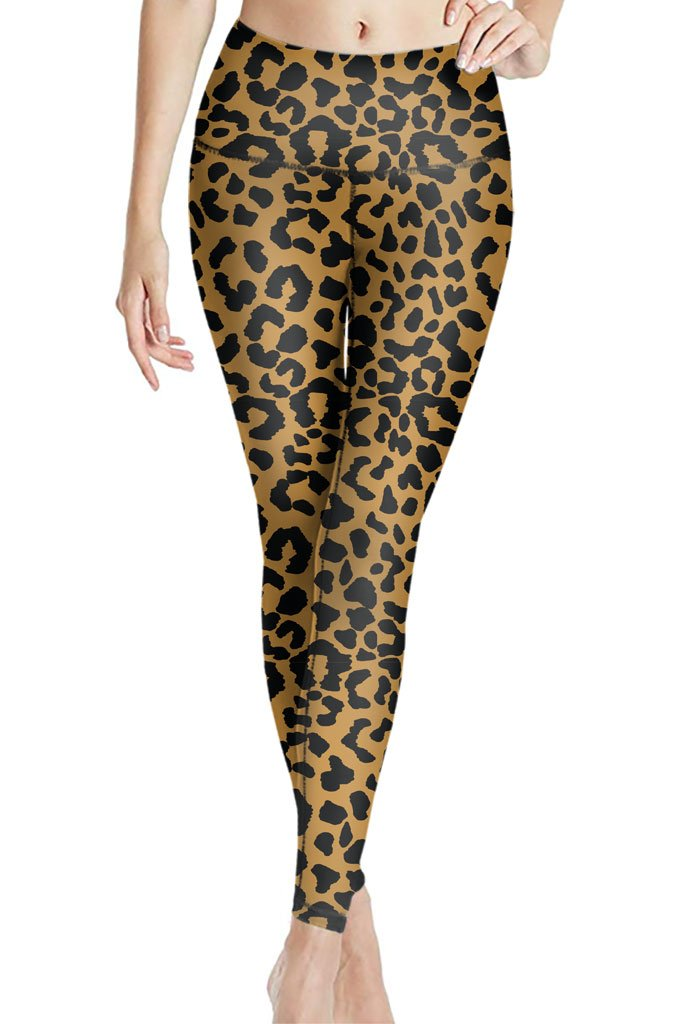 DS LEOPARD ACTIVEWEAR LEGGINGS - YOGA - EXCLUSIVE! (WHOLESALE)