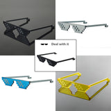 Deal With It 8-bit sunglasses - Creative Movement! by ImDS * - Artisan Luxury Art Lovers Shop