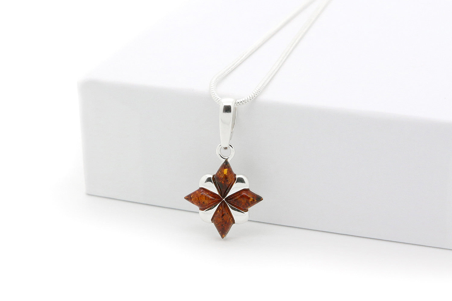 silver sterling star pendant necklace gold north plated