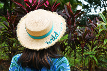 Safari Straw Boater, Adult Hat - twobakedbuns