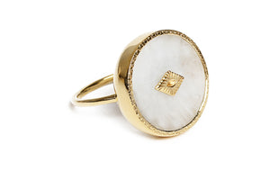 sanja moonstone ring be maad natural gemstones