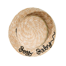 Journey Boater Kids, kids hat - twobakedbuns