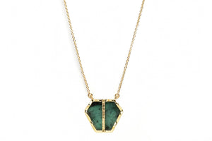 NEMARA NECKLACE - EMERALD