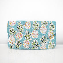 Pineapple Vibes Beaded Clutch, clutch - twobakedbuns