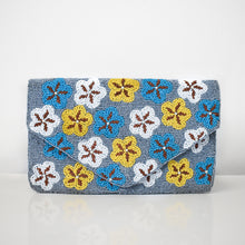 Wintry Grace Beaded Clutch, clutch - twobakedbuns