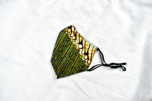 BAMBOO X BATIK MASK (ADULT; ADJUSTABLE)