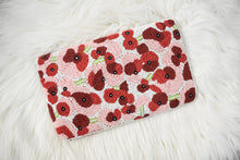 Poppies Beaded Clutch, clutch - twobakedbuns
