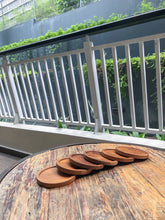Natural Wood Coasters (set of six)