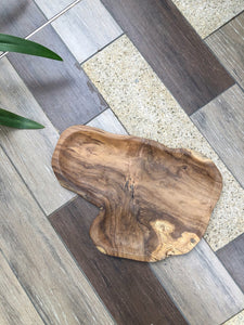 Natural Teak Serving Tray (Thick)