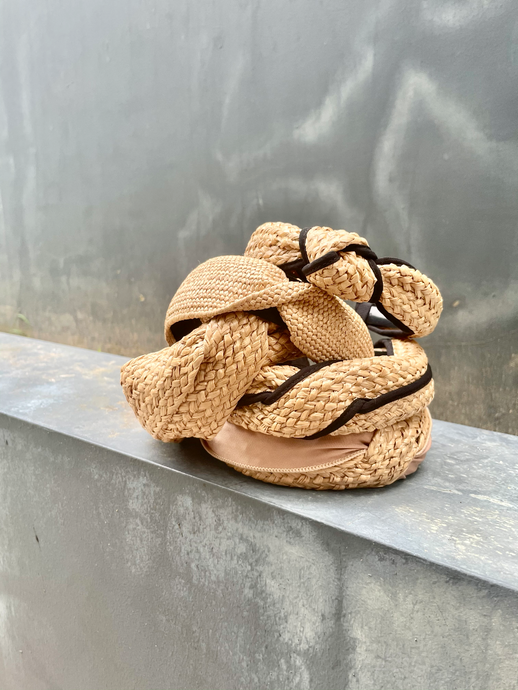 Natural Rattan Hairband (Assorted)