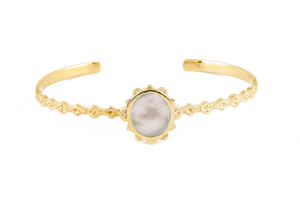 MALKA CUFF - MOTHER OF PEARL