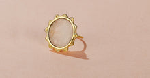MALKA RING - MOONSTONE
