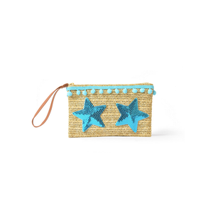 Mermaid Essentials Pouch, Straw Pouch - twobakedbuns
