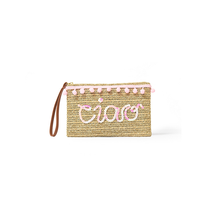 Customisable Essentials Pouch, Straw Pouch - twobakedbuns