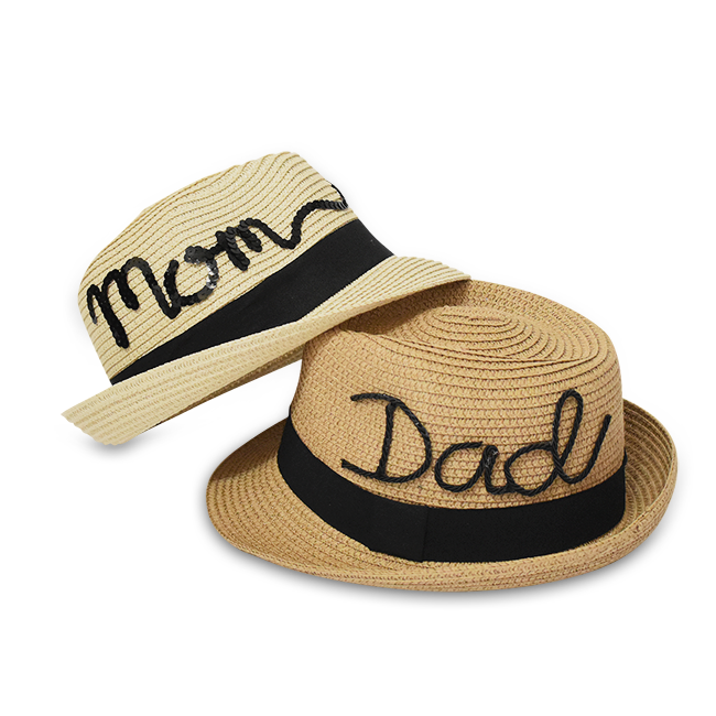Leisure Trilby Set, Couple Family Group Hats - twobakedbuns