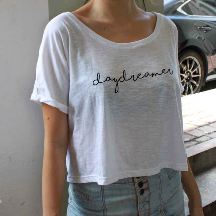 DAYDREAMER CROP TEE
