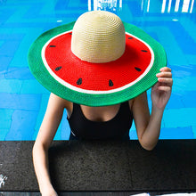 Juicy Watermelon Floppy, Adult Women's Hat - twobakedbuns