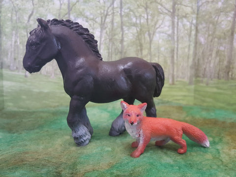 Retired Schleich Fox