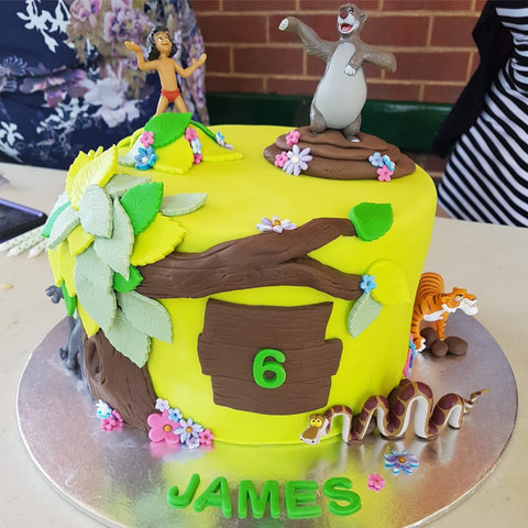 Jungle Book Cake Toppers