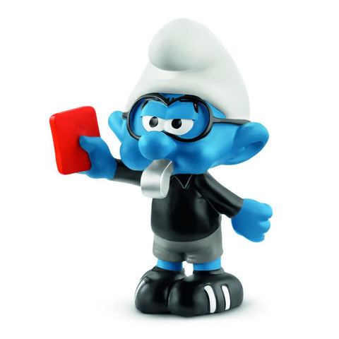 20809 Football Smurf Referee 2018 Smurfs