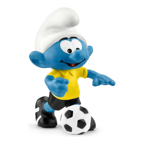 20806 Football Smurf with Ball 2018 Smurfs