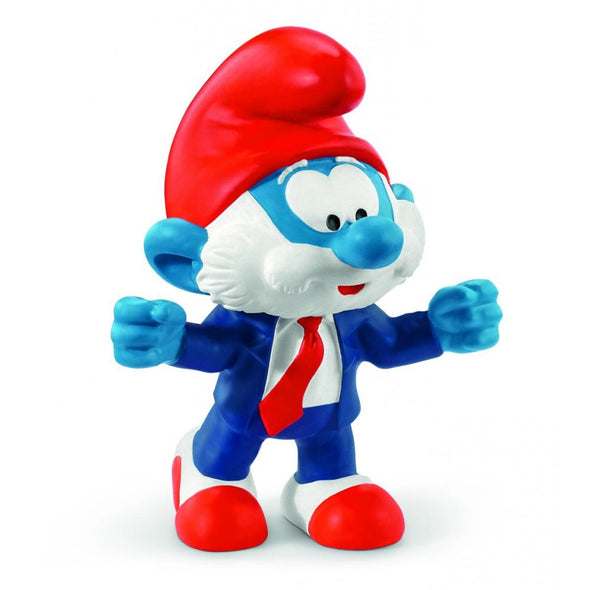 20804 Papa Football Smurf Coach Soccer