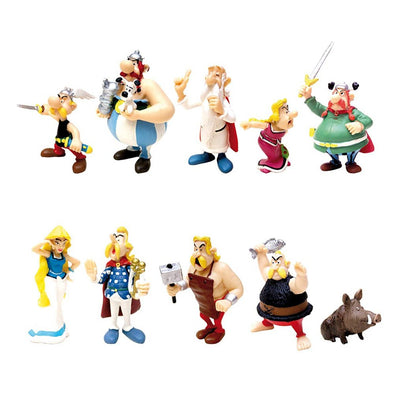 Asterix Cake Topper toy figures