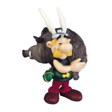 Asterix with Wild Boar Asterix Figure Plastoy Cake Topper
