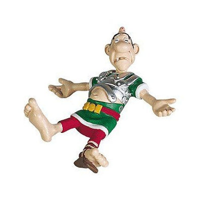Beaten up Roman Asterix Figure Plastoy Cake Topper
