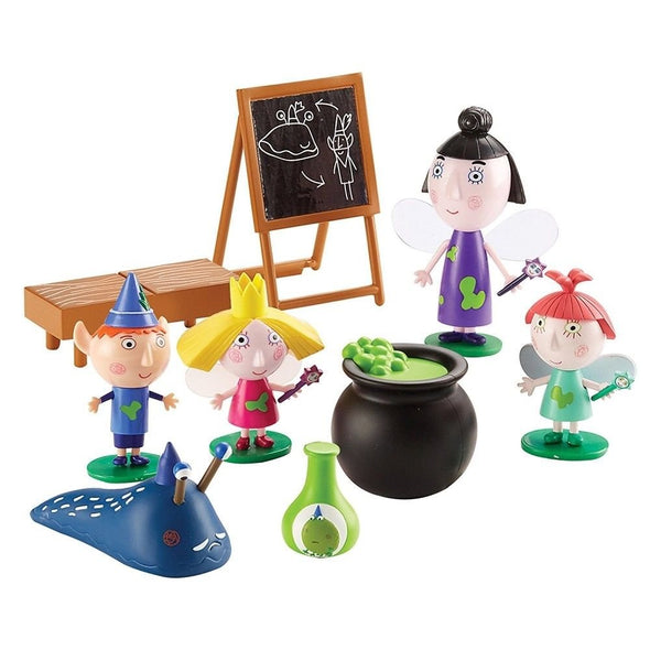 Ben and Holly Playset Cake Toppers