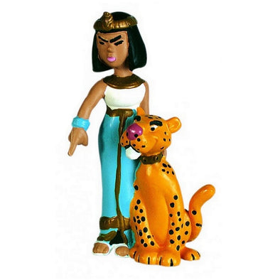 Cleopatra Asterix Figure Plastoy Cake Topper