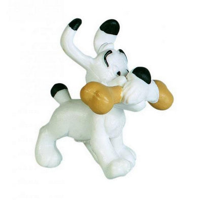Dogmatix with Bone Asterix Figure Plastoy Cake Topper