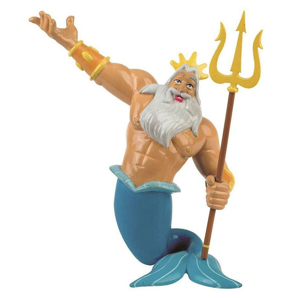 Little Mermaid King Triton Cake Topper
