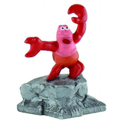 Little Mermaid Sebastian Cake Topper Toy Figure