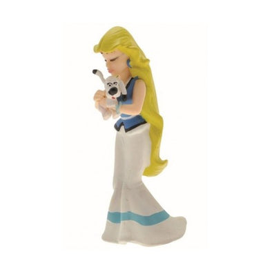 Panacea Kissing Dogmatix Asterix Figure Plastoy Cake Topper