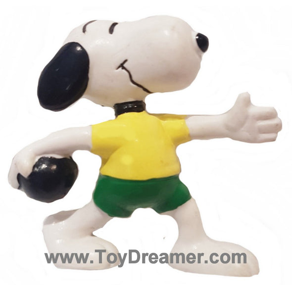 Peanuts Snoopy Bowling Caketopper
