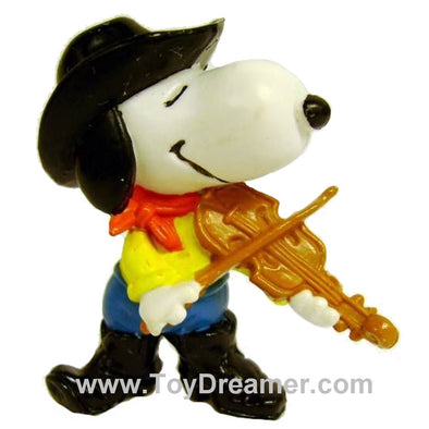 Peanuts Snoopy with Violin toy figure