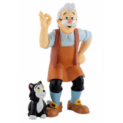 Pinocchio Gepetto with Cat