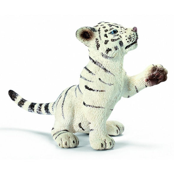Schleich 14385 White Tiger Cub playing