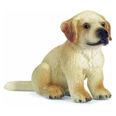Schleich 16342 Golden Retriever Puppy, sitting