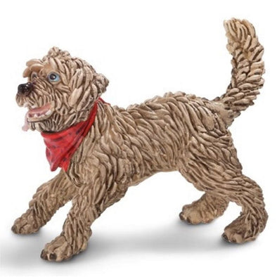 Schleich 16818 Mixed Breed dog playing