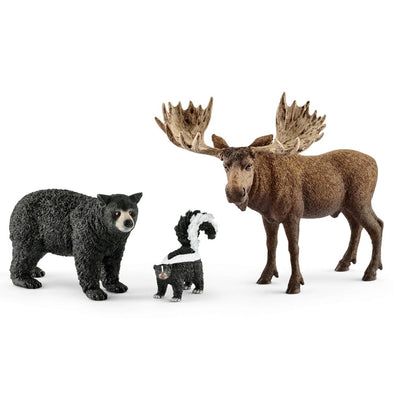 Schleich 41456 Forest Dwellers Pack North American
