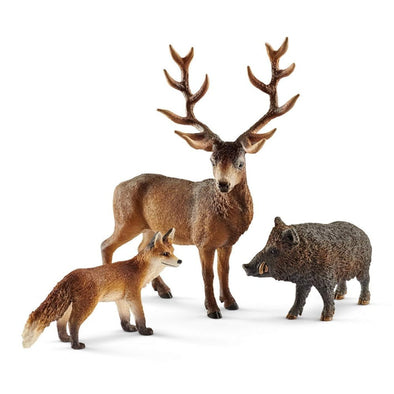 Schleich 41458 European Forest Dwellers - Box Set