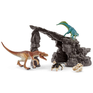 Schleich 41461 Dinosaur Set with Cave