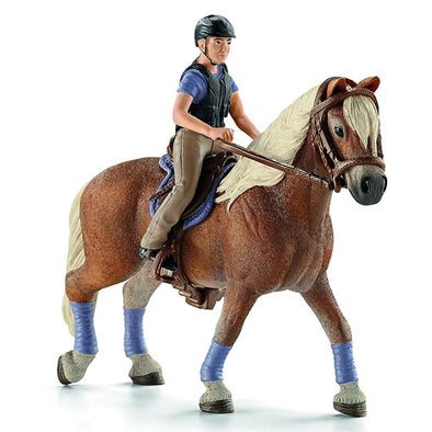 Schleich 42113 Recreational Rider on Horse