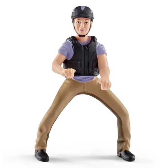 Schleich 42164 Recreational Rider Purple