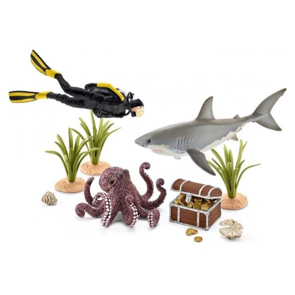 Schleich 42329 Treasure Hunt Diver