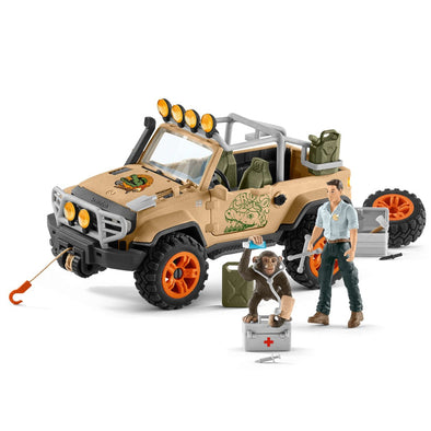 Schleich 42410 4x4 Vehicle with Winch.
