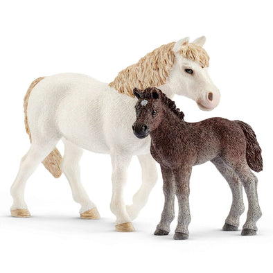 Schleich 42423 Pony Mare and Foal